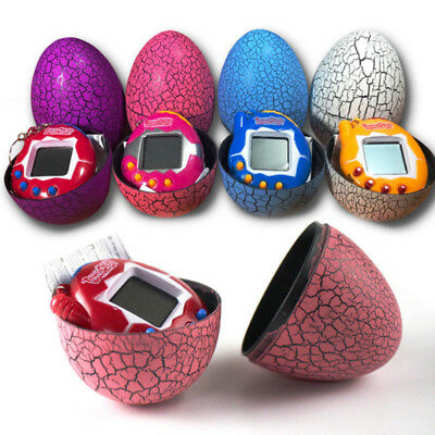Connection Virtual Cyber Electronic Pet Toy Surprise Egg Game Machine Kids Toy