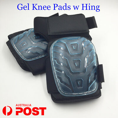 New Gel Filled Knee Pads w Hinges, Professional Gel Knee Pads w Adjustable Strap