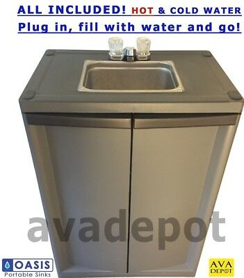 Portable Sink With Hot Water Self Contained All Included