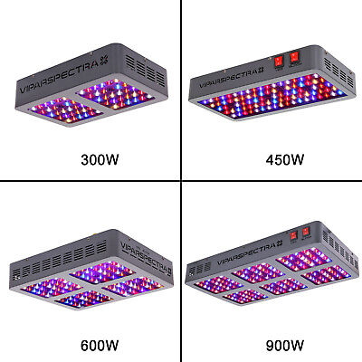VIPARSPECTRA LED Grow Light 12-band Full Spectrum Veg Bloom Hydroponics Indoor
