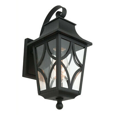 NEW Mercator Maine Small Outdoor Lantern Coach Wall Light - MX88011S