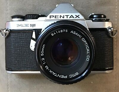 Pentax ME Super With Lens, Nice Condition!