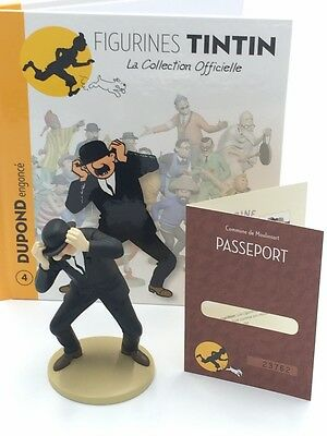 Collection Officielle Tintin - Figurine Tintin N4 Dupond Engoncé [Promo]