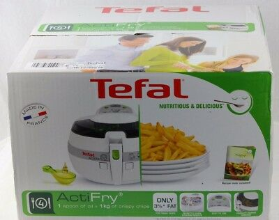 NEW Tefal FZ7060 Actifry Health Cooker  Deep Fryer White Made in France