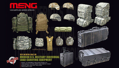 SPS015 MENG 1/35 Modern US Military Individual Load Carrying Equipment