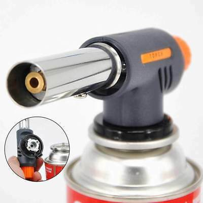 1Pcs Flamethrower Butane Burner Gas Torch Blow Ignition Camping Welding 502C