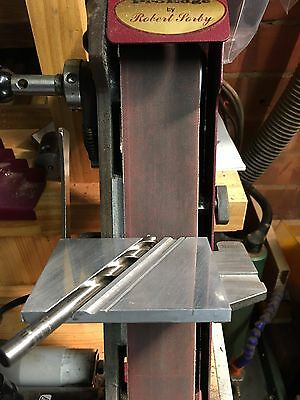 A Precision CNC Milled Four Facet Drill Sharpening Jig