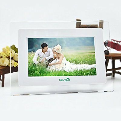 7 Inch TFT LCD Wide Screen Digital 2000 Photos Display Frame with Calendar 32GB