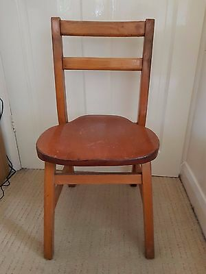 Small Child's wooden chair
