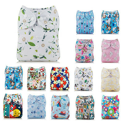 Baby Reusable Washable Cloth Diaper Infants Waterproof Nappy Adjustable Diapers