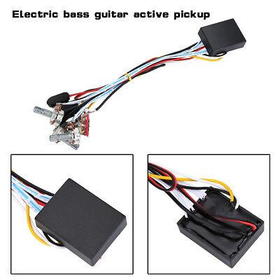 2 Band 3 Band EQ Preamp Circuit Guitar Balance Volume For Bass Pickup Active LJ