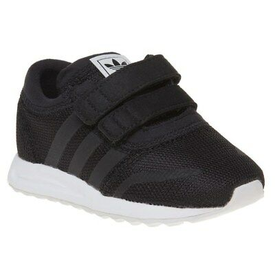New Infants adidas Black Zx Flux Textile Trainers Retro