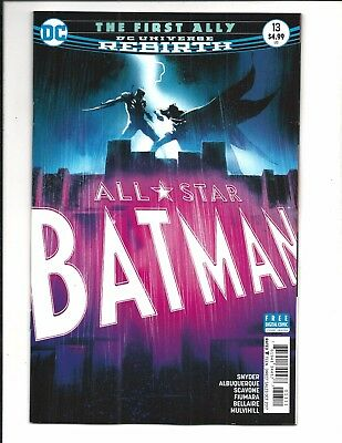 ALL STAR BATMAN # 13 (DC Universe Rebirth, OCT 2017), NEW NM (Bagged & Boarded)