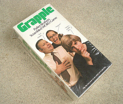 GRAPPLE Vintage 1973 Parker Brothers Word Board Game New Sealed Box