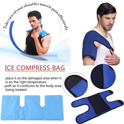 Reusable Soft Hot Cold Gel Pack Heat Therapy Wrap Microwaveable Pain Relief AL