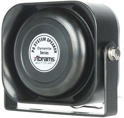 Abrams ABR-S100 Compact 100W Siren Speaker High Performance (Capable with Any