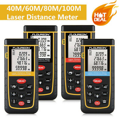 20M-100M Digital Laser Distance Meter Rangefinder Area Volum Measure Diastimeter