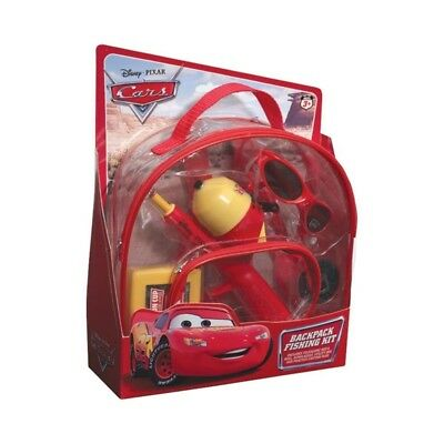 Shakespeare Disney Cars Backpack Kit Spincast Combos - Spinning. Brand New