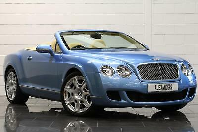 2010 Bentley Continental GTC 6.0 W12 Auto Petrol blue Automatic