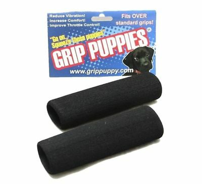 Grip Puppies Foam Motorcycle Grip Covers Anti Vibration Comfort Grips