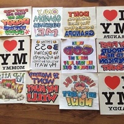 100  Heat Transfers for  Commercial Use  KIDS TRANSFERS NEW LOT