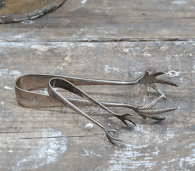 Set of Antique Claw Ice Tongs