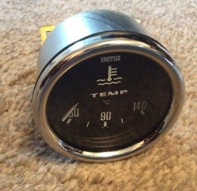 NEW SMITHS TEMPERATURE GAUGE  ,52 MM Diameter