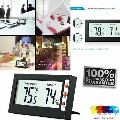 Temperature & Humidity Digital Weather Monitor Hygrometer LCD Indoor Thermometer