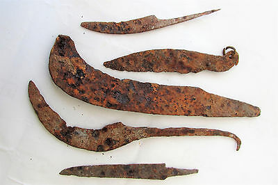RARE ANCIENT Authentic Viking Period Iron Knifes 8-10 century AD