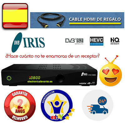Descodificador Iris 9800 Hd + Cable Hdmi+ Factura+ Garantia, Tienda Oficial