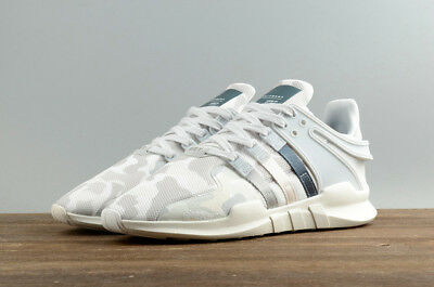 Adidas EQT Support ADV Men Running Jogging Gym Sport Shoes White Camo BB1308