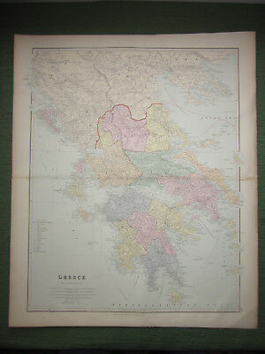 Greece, John Arrowsmith, Antique Map