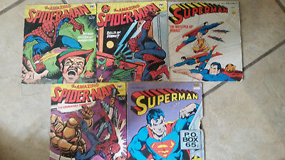 """Superman - LP 7"""" Double-Sided Story Records"""