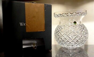 """*NEW* Waterford Crystal HERITAGE Large Corset Bouquet Flower Vase 9"""" NEW IN BOX"""