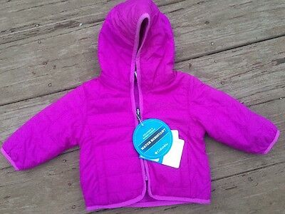 Baby Girls COLUMBIA DOUBLE TROUBLE REVERSIBLE JACKET COAT Size: 3-6 Months NEW