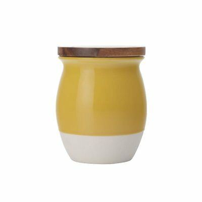NEW Maxwell & Williams Artisan Dipped Canister 500ml Mustard
