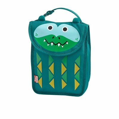 NEW BUILT NY Big Apple Buddies Lunch Sack Alligator (RRP $40)
