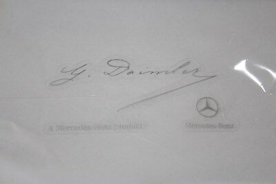 Genuine Mercedes-Benz Front Windshield G Daimler Signature Sticker A0045847338
