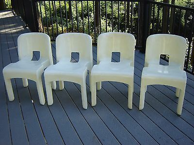 One Vintage Kartell Chairs designed by Joe Columbo made in USA by Beylerian LTD