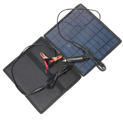18V 5.5W Solar charger Solar Panel /battery Charger For Car/Moto Power T7W1
