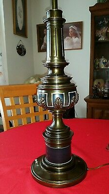 Mid Century Neo Classical Stiffel Hollywood Regency Parzinger Lamp Excellent!