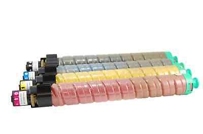 4-Pack Toner Set For Ricoh Aficio MP C3002 C3502 841647 841735 High Quality KCMY