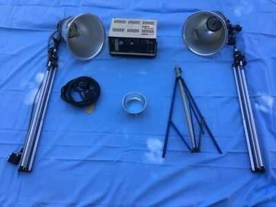 Ascor CD1200 ws Electronic Flash System - Power Supply & bundle tested good