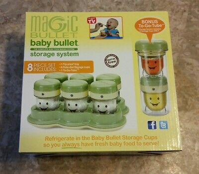 Magic Bullet Baby Bullet Storage System 8 Pc Set