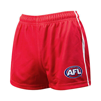 "Bnwt Mens Replica Afl Sydney Swans Football Short 36"" Waist"