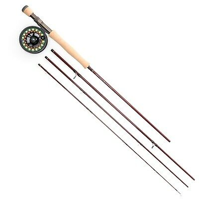 Scientific Anglers Ampere IV Fly Rod & Reel Combo w/ Tube 4 Piece 9' Choose Size