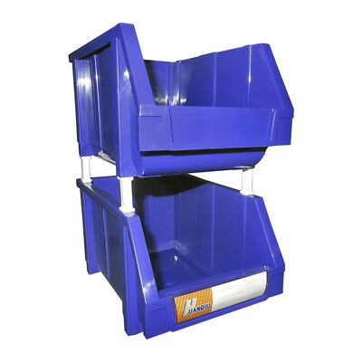 Stackable Storage Bin Plastic Parts Container Warehouse Organisation Toolboxes