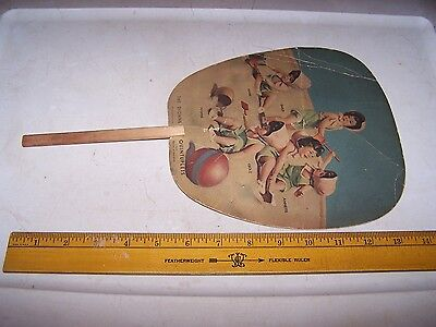 1936 MUTUAL MILK CO Fan INDIANAPOLIS INDIANA - Dionne Quintuplets - Dairy