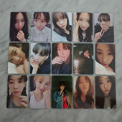 SNSD TAEYEON 1st Album MY VOICE Photocard Fine, I Got Love, Make me love u Ver.