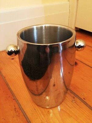Baccarat stainless steel wine chiller / bucket
